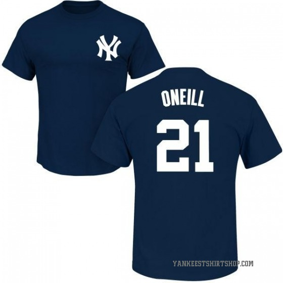 Men's Paul O'Neill New York Yankees Roster Name & Number T-Shirt - Navy